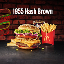 Choice of Koreans-McDonald's Taste of the World II 1955 Hash Brown!