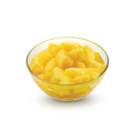 Pineapple Fruit Cup