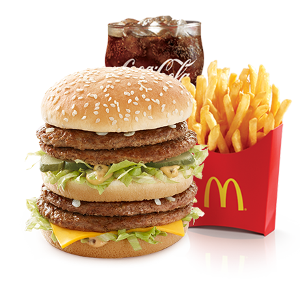 Mega Mac Extra Value Meal