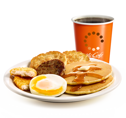 Deluxe Breakfast<sub>™</sub><br>Extra Value Breakfast